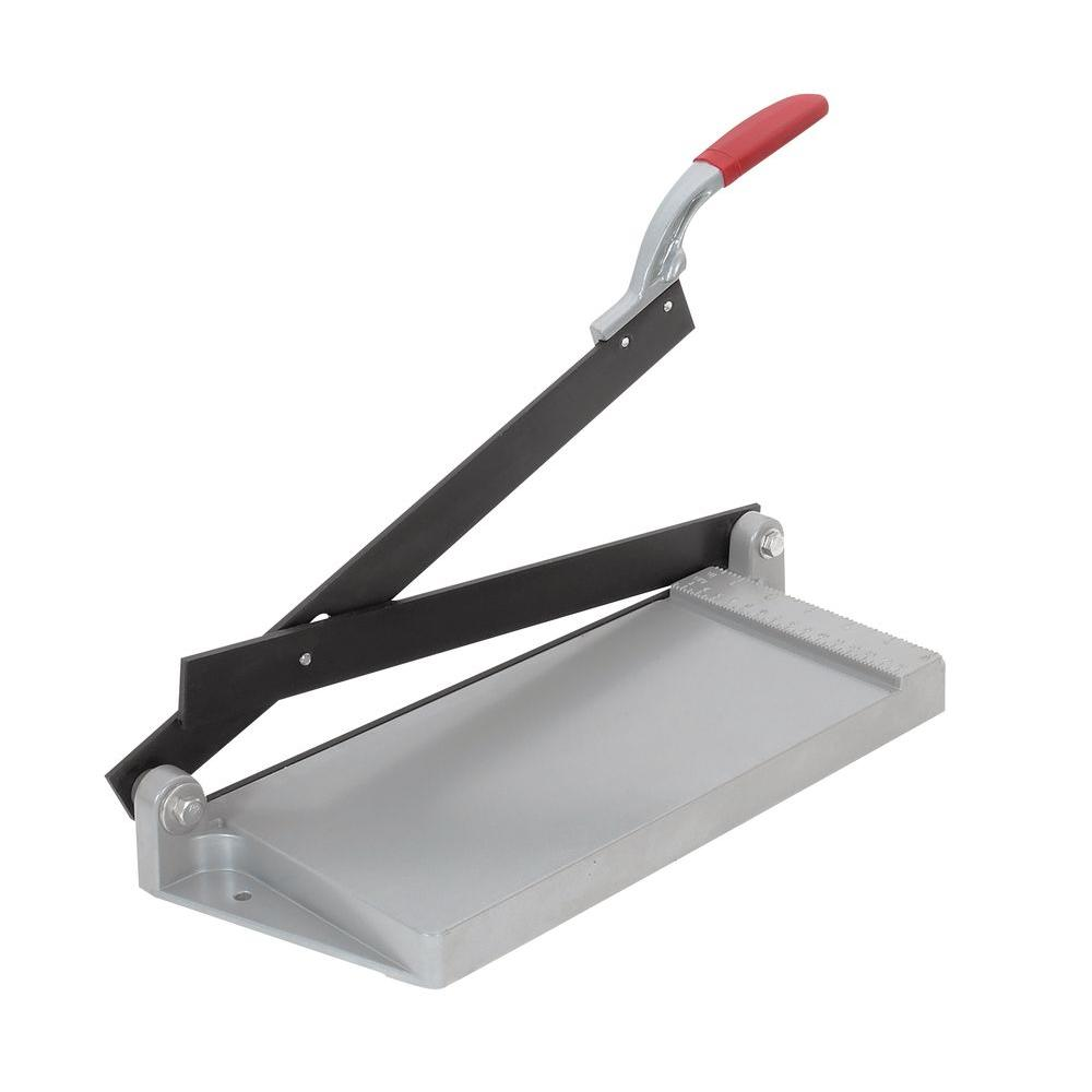 Roberts 12 in. Quik-Cut Vinyl Tile VCT Cutter-30002 - The Home Depot