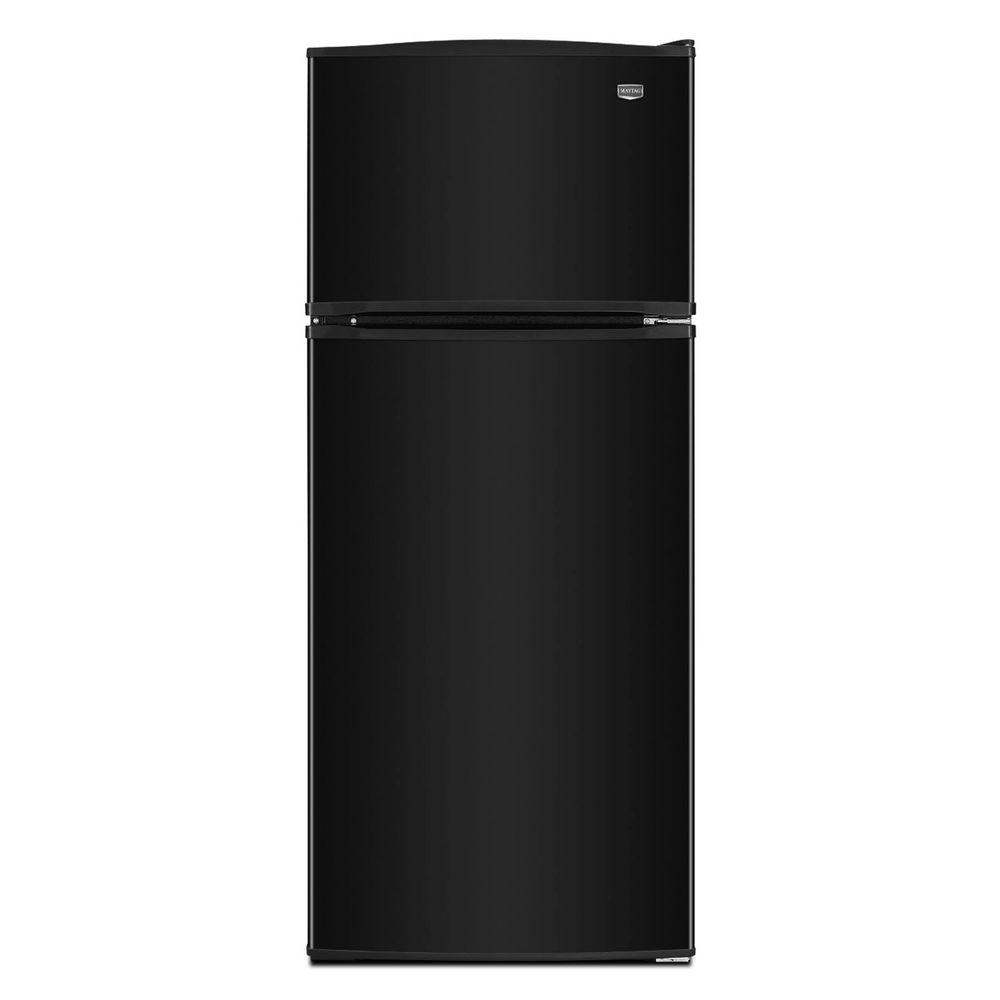 Maytag 17.5 cu. ft. Top Freezer Refrigerator in Black