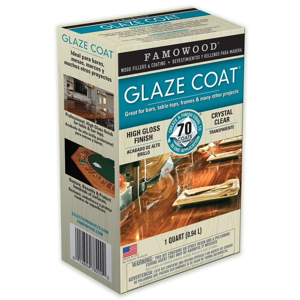 FAMOWOOD 1 qt  Glaze Coat Clear Epoxy Kit