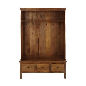 Home Decorators Collection Holbrook Natural Reclaimed Hall Tree Deals