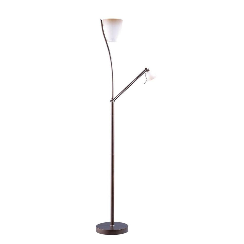 Filament Design Cassiopeia 72 in. Oil Rubbed Bronze Torchiere Lamp