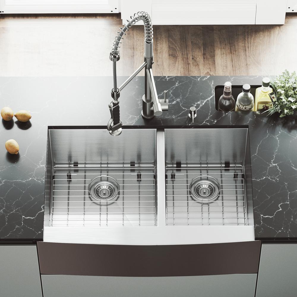 Stainless Steel Farmhouse Apron Kitchen Sinks Kitchen Sinks
