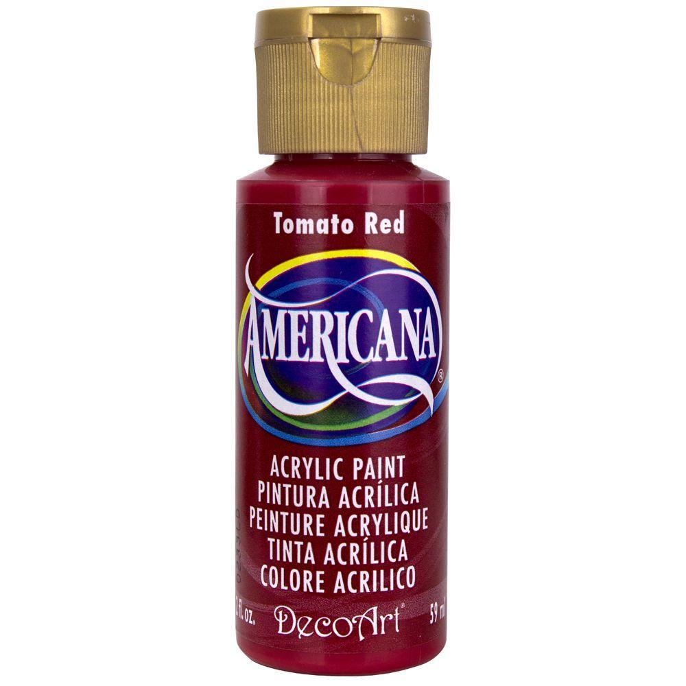 DecoArt Americana 2 oz. Tomato Red Acrylic Paint