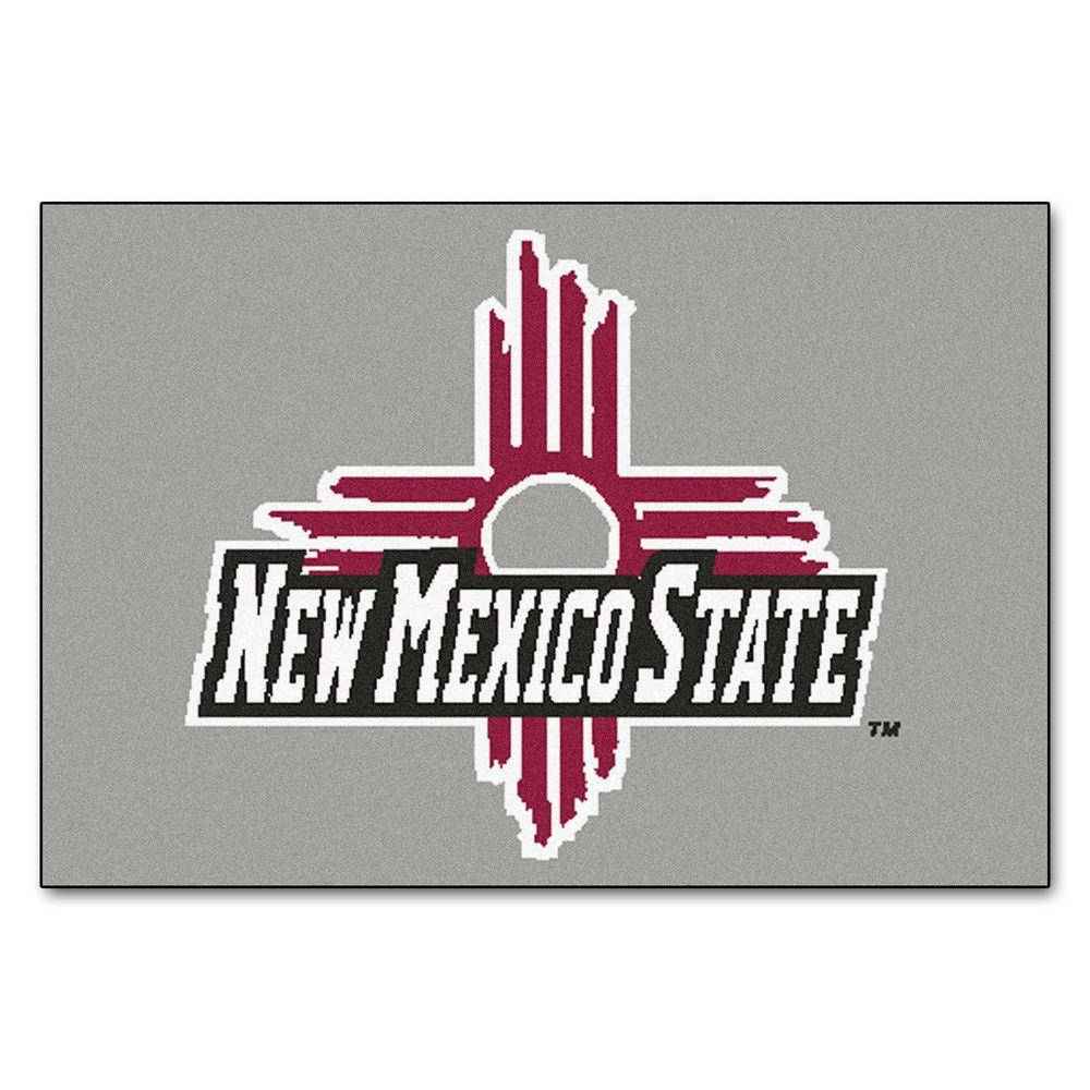 Fanmats Ncaa New Mexico State University 19 In X 30 In Indoor