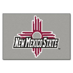 SIZE ONE NEW MEXICO STATE AGGIES NCAA STARTER FLOOR MAT 20X30