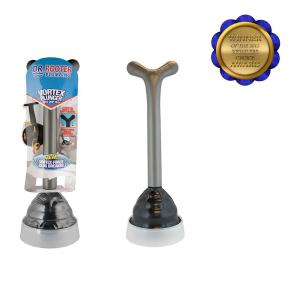 Vortex Professional Grade Plunger with Drip Tray and Splash Guard