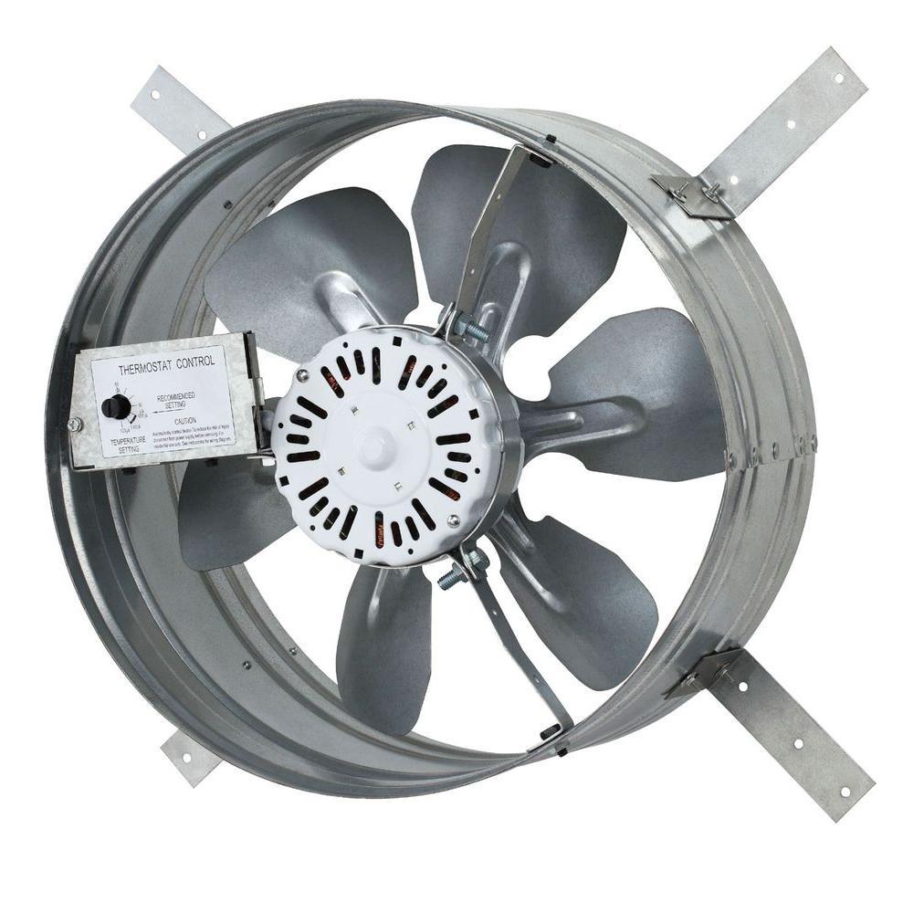 Iliving 14 In Single Speed Gable Mount Attic Ventilator