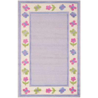 Safavieh Kids Lavender Multi 5 Ft X 8 Area Rug