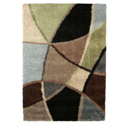 Danny Blue 5 ft. x 8 ft. Indoor Area Rug