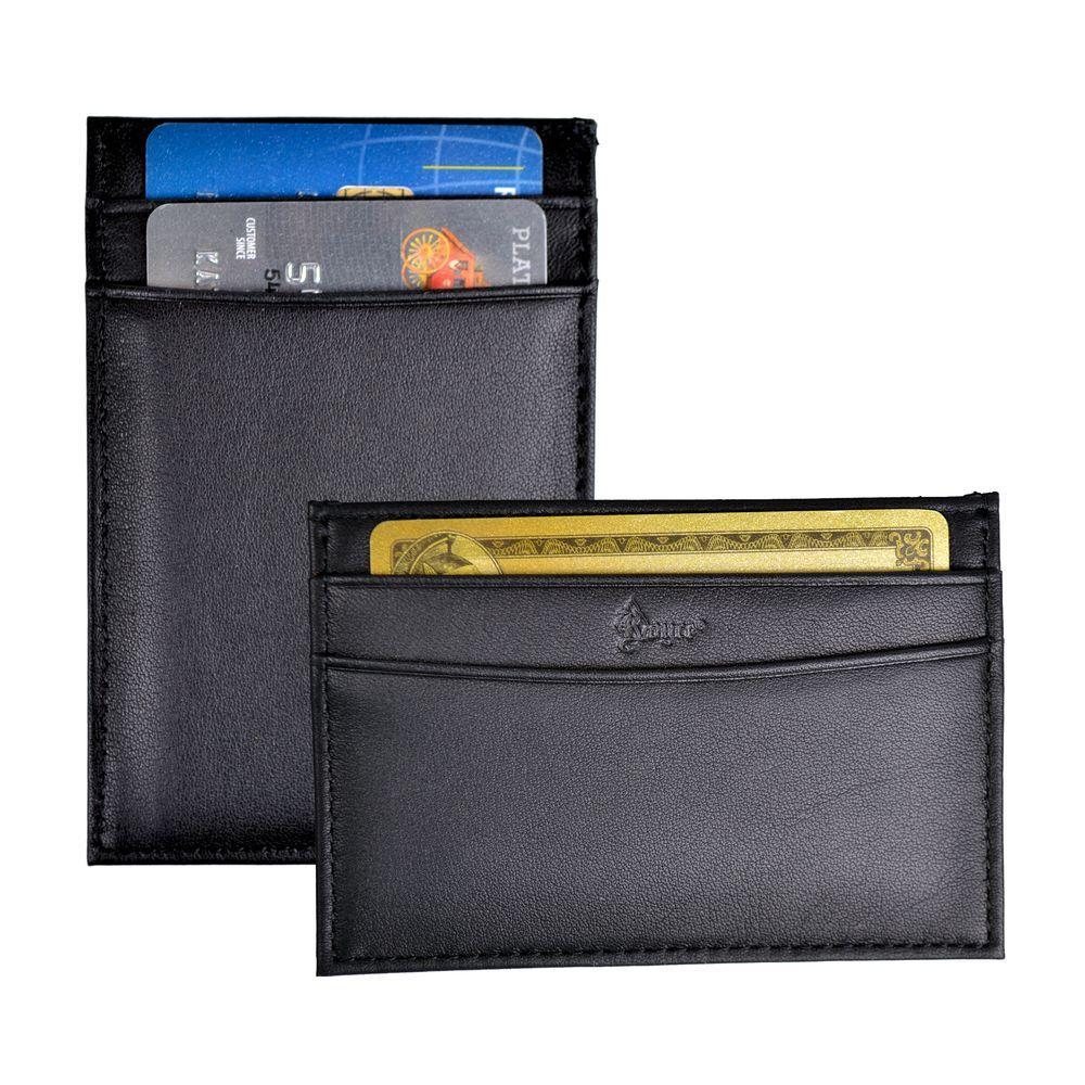 3188d43416f8 Royce Slim Credit Card Case Wallet in Genuine Leather