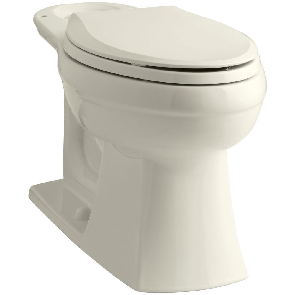 Kohler Kelston Elongated Toilet Bowl Only in Biscuit