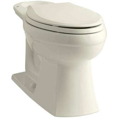Kelston Elongated Toilet Bowl Only in Biscuit