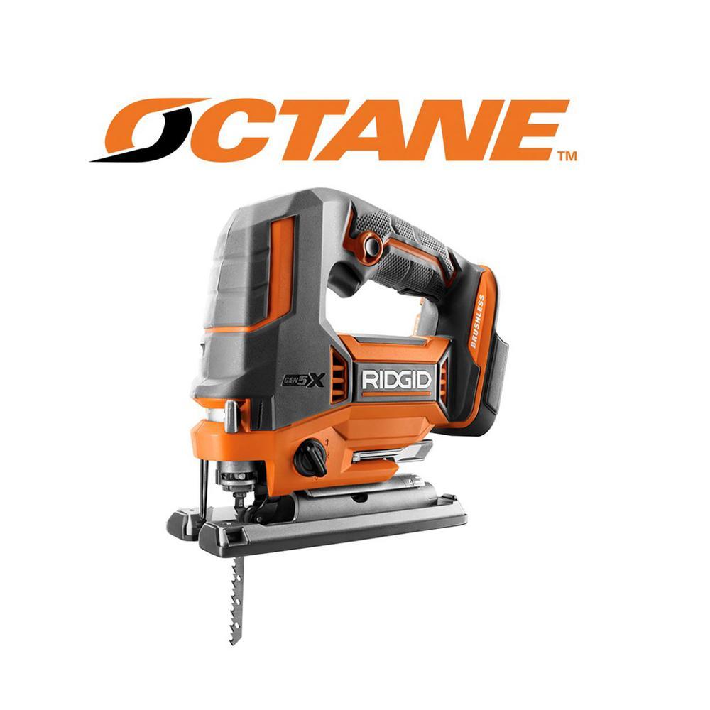 18-Volt OCTANE Cordless Brushless Jig Saw (Tool Only)