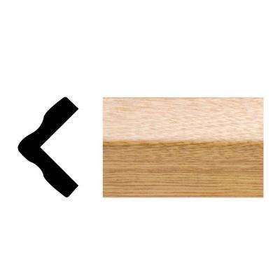 5165 1 in. x 1 in. x 8 ft. PVC Imperial Oak Outside Corner Colonial Casing Moulding