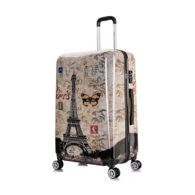 Paris Prints 28 in. Lightweight Hardside Spinner