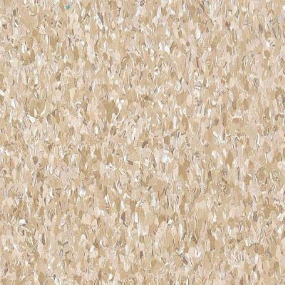 Armstrong Take Home Sample Imperial Texture Vct Cottage Tan Standard Excelon Commercial Vinyl Tile
