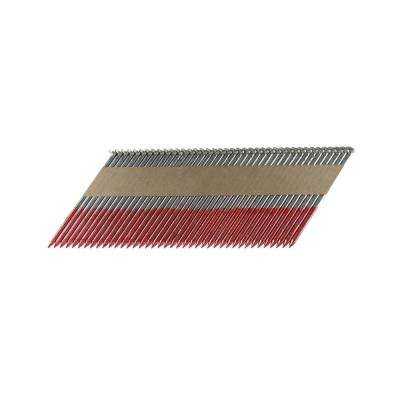 3-1/4 in. x 0.131 Paper Tape Collated HD Galvanized Smooth Shank Framing Nails (500 per Box)