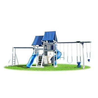 White Polaris Vinyl Playset