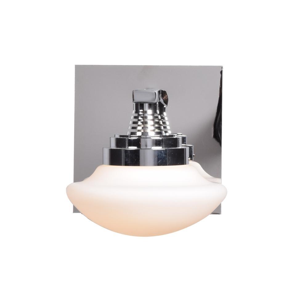 Atomiser 5 in. W 5-Watt Chrome Integrated LED Bath Light