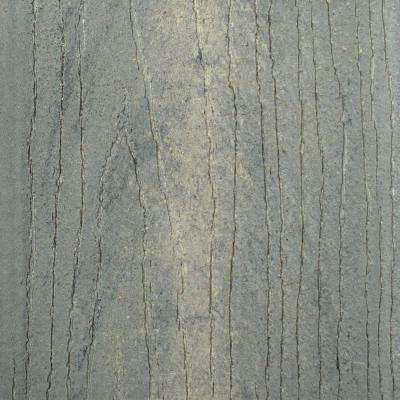 Infuse 1 in. x 5-3/8 in. x 1/2 ft. Southern Barnwood Composite Decking Board Sample
