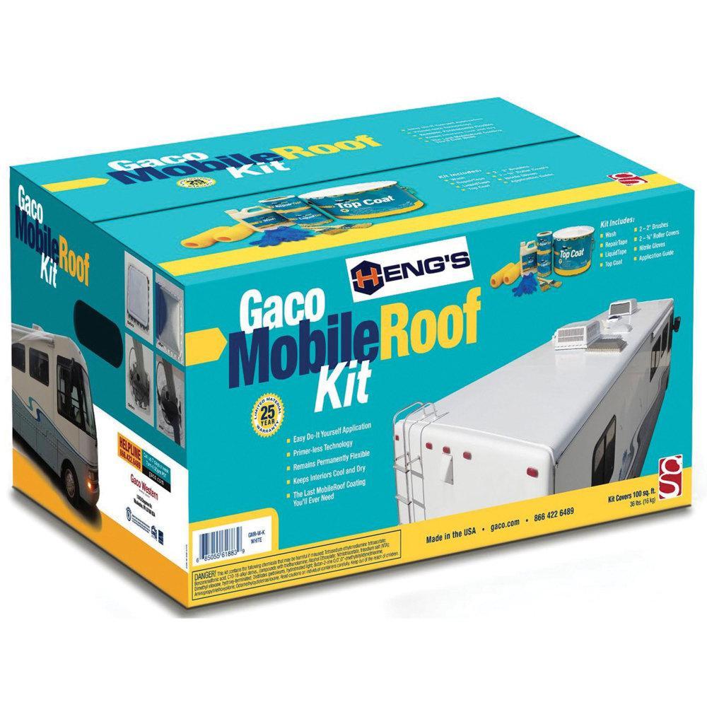 Gaco Silicone Roof Coating Kit