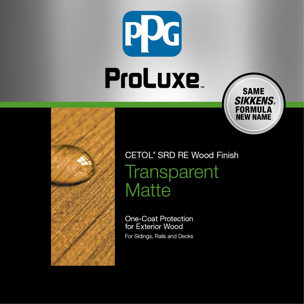 PPG ProLuxe 1 gal  Teak Cetol SRD RE Exterior Wood Finish