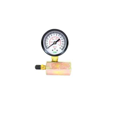 Everbilt 100 PSI Pressure Gauge with 1/4 in  Lower Connection