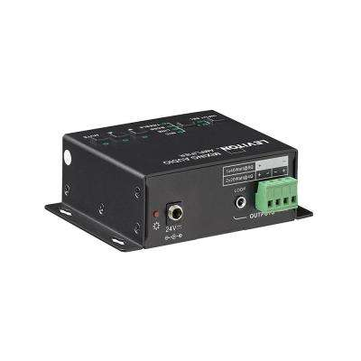 Mixing Audio Amplifier Includes 24VDC Power Adapter, Black