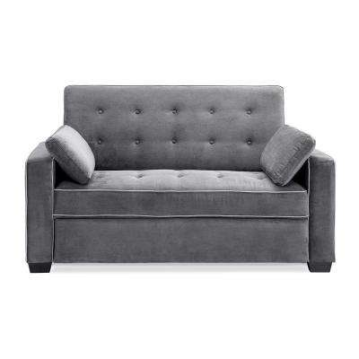 Augustus Grey Convertuble Full Sofa