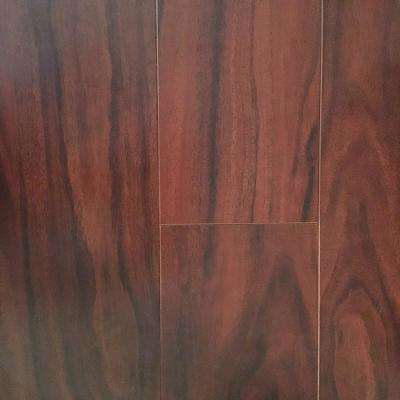 Nutmeg 15 mm Thick x 5 in. Wide x 48 in. Length Click-Locking Laminate Flooring Planks (16.48 sq. ft. / case)