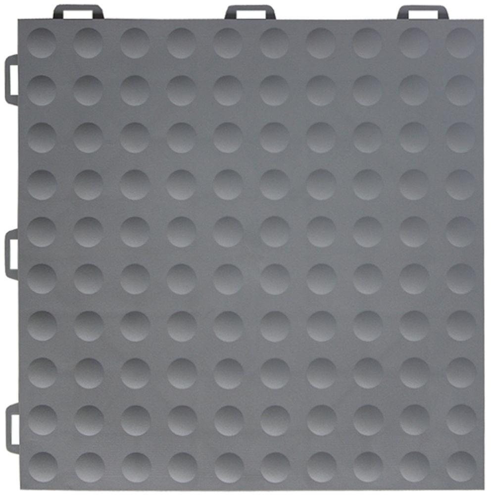 StayLock Bump Top Gray 12 in. x 12 in. x 0.56