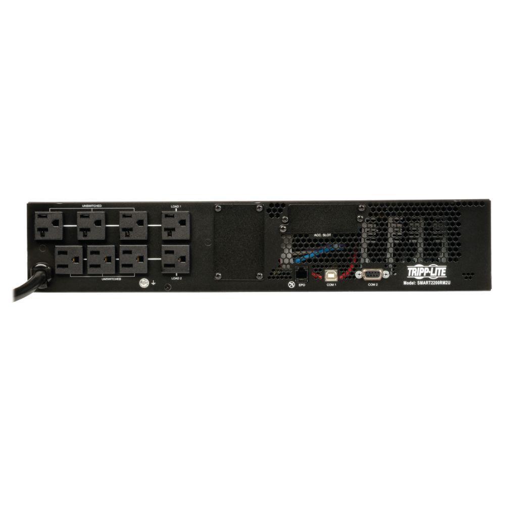 2200VA 1920-Watt UPS Smart Rackmount AVR 100-Volt /110-Volt/120-Volt USB DB9 2URM