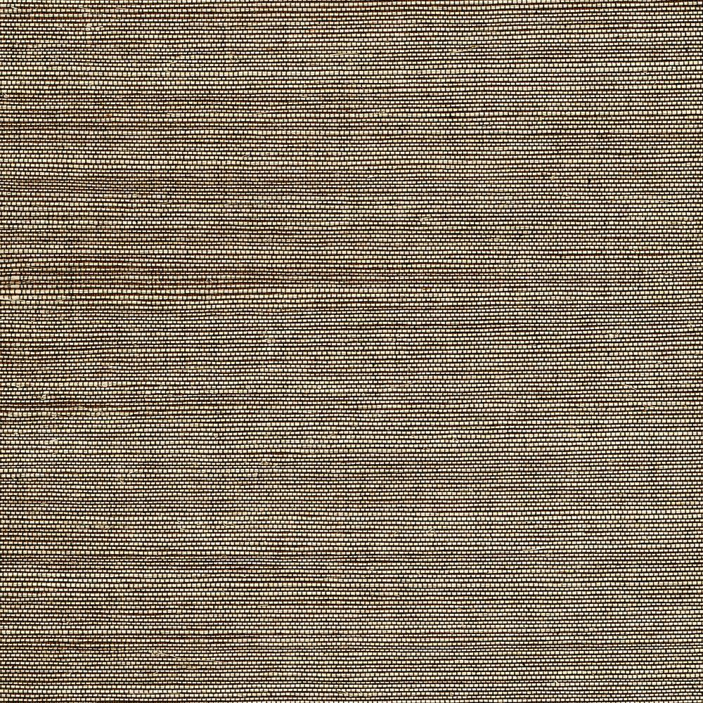 Marcin Brown Grasscloth Wallpaper Sample