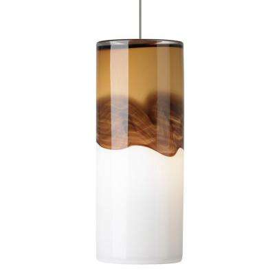 Rio 1-Light Bronze Xenon Mini Pendant with Amber/Dark Brown Shade  sc 1 st  The Home Depot & LBL Lighting - Pendant Lights - Lighting - The Home Depot azcodes.com