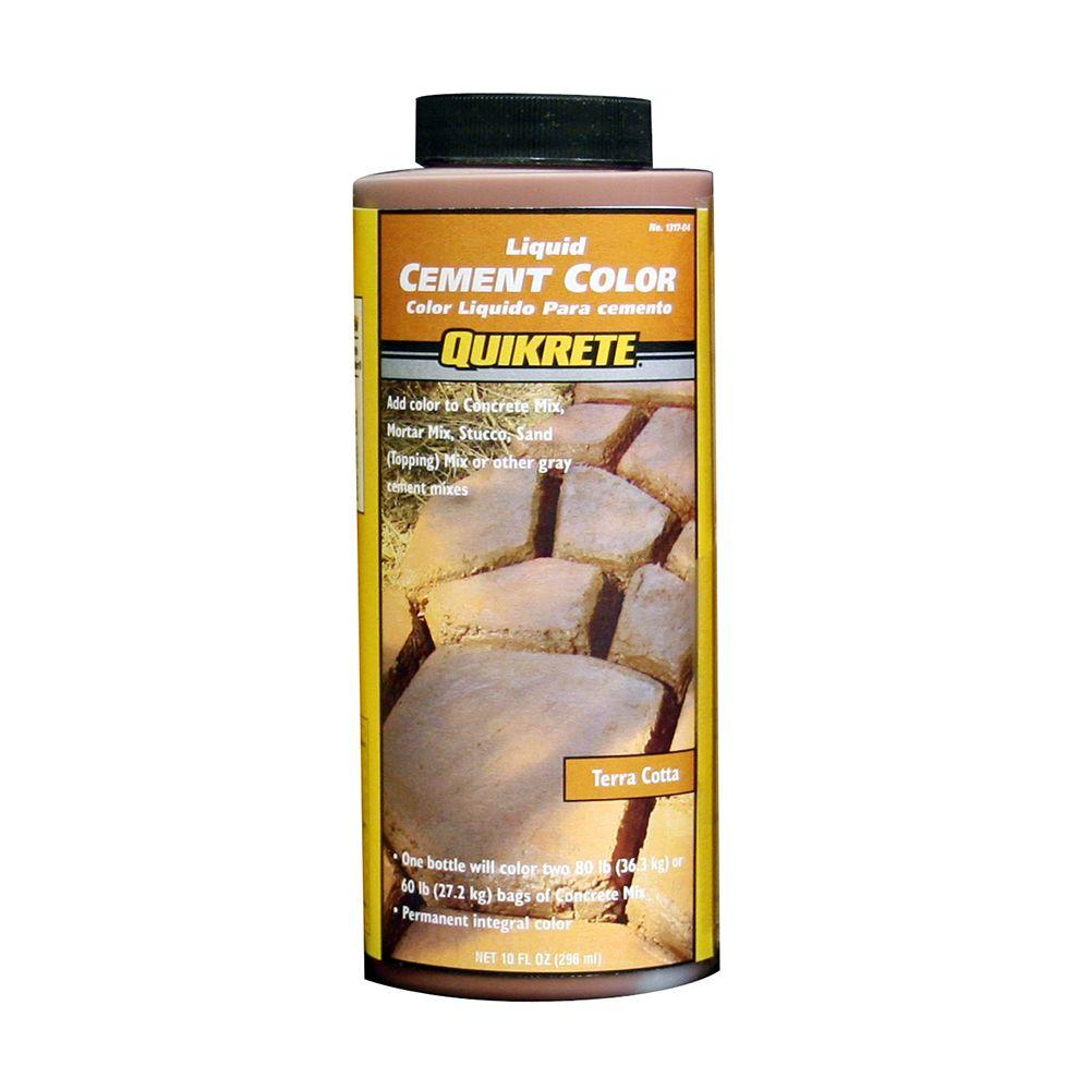 Quikrete 10 oz. Liquid Cement Color Terra Cotta-131704 - The Home Depot