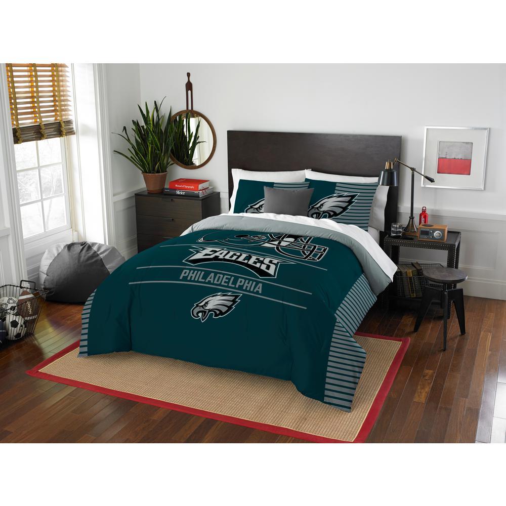 Eagles 3-Piece Multicolored Full Comforter Set