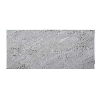 Mountain Storm Gray 9.75 in. x 21.625 in. Glossy Ceramic Wall Tile (14.80 sq. ft. / case)