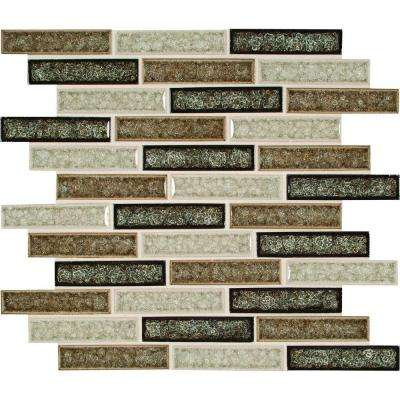 Venetian Cafe 12 in. x 12 in. x 8 mm Glass Mesh-Mounted Mosaic Tile