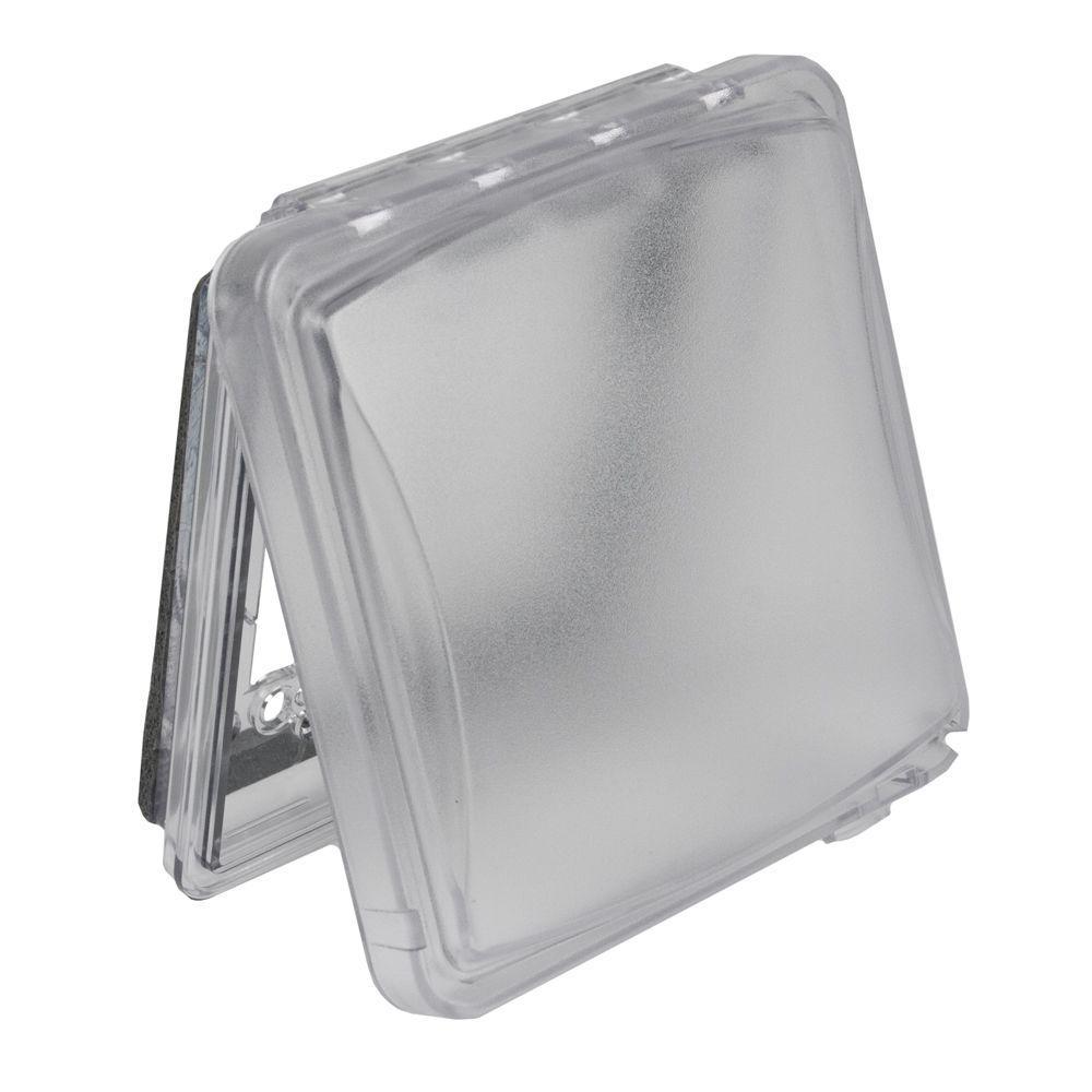 2-Gang Weatherproof Universal Device Flat Cover