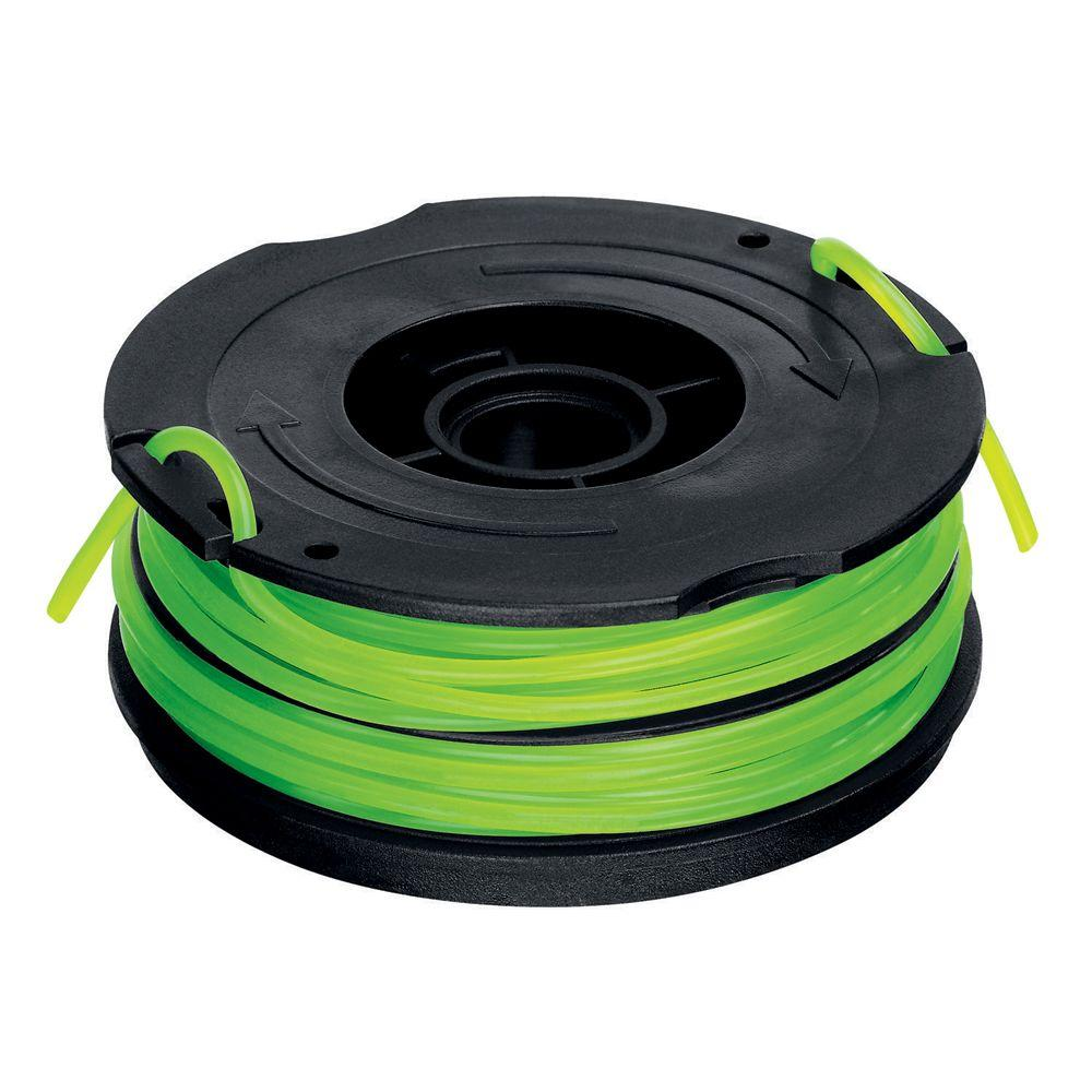 BLACK+DECKER 0 080 in  x 30 ft  Replacement Dual Line Automatic Feed Spool  AFS for GH1000 Electric String Grass Trimmer/Lawn Edger