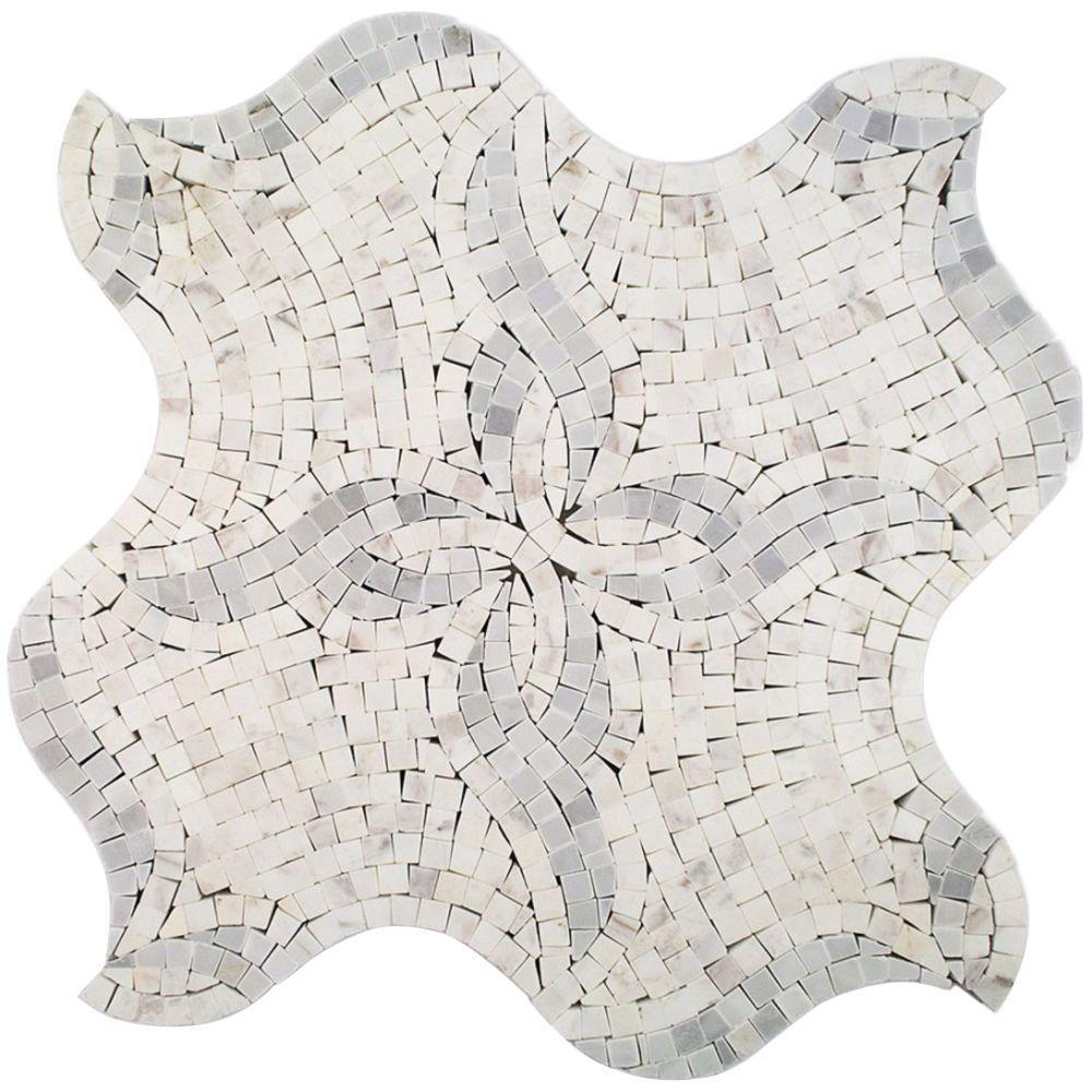 Kitchen Floor - Mosaic Tile - Tile - The Home Depot
