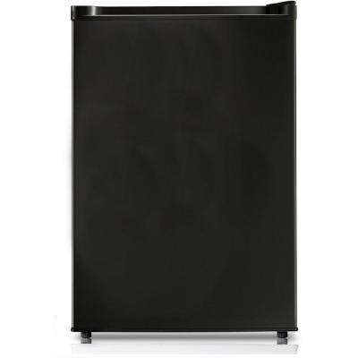 4.4 cu. ft. Energy Star Mini Refrigerator in Black
