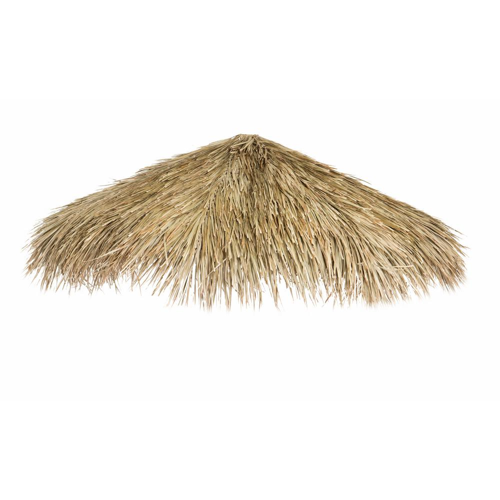 Backyard X-Scapes 12 ft. D Mexican Palm Thatch Umbrella Cover