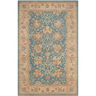 Antiquity Blue 10 Ft X 14 Area Rug