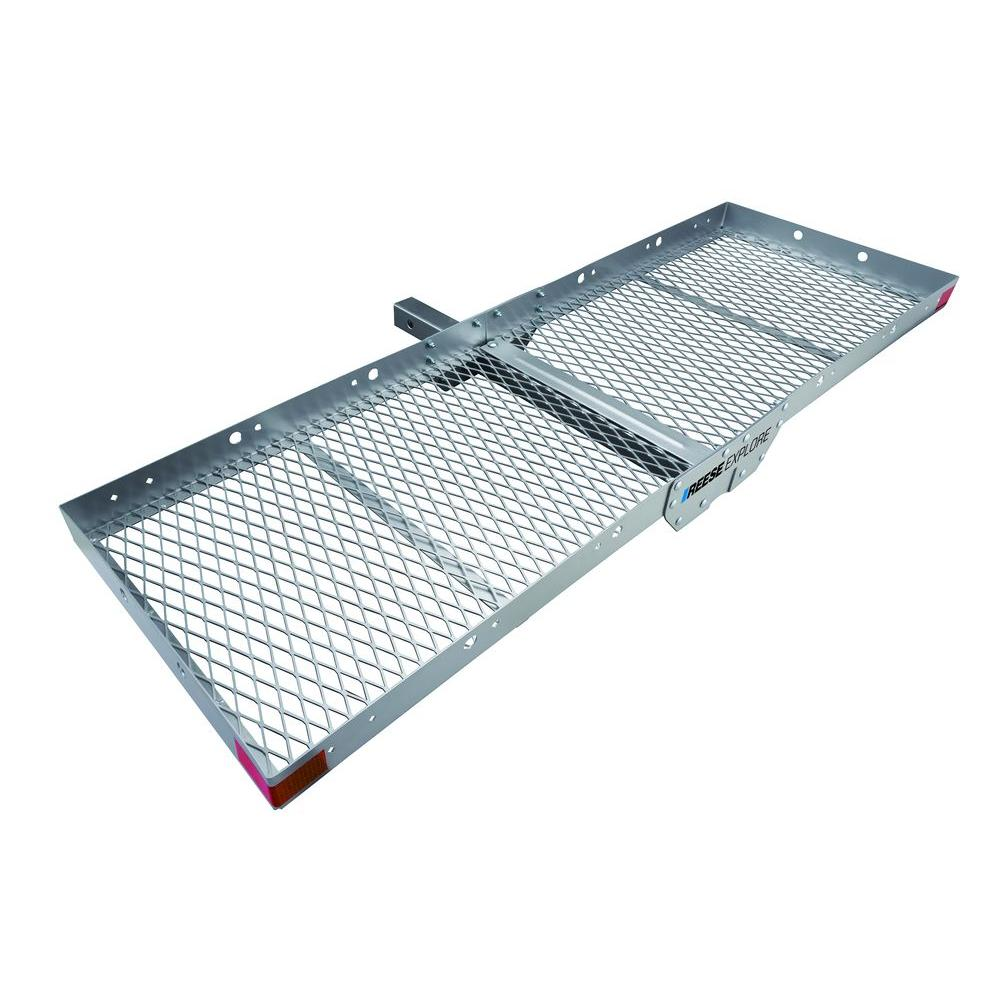 Reese Aluminum Hitch Mount Cargo Tray