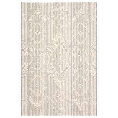 Monteclair Tribal 7 ft. 10 in. x 10 ft. 10 in. Gray Area Rug