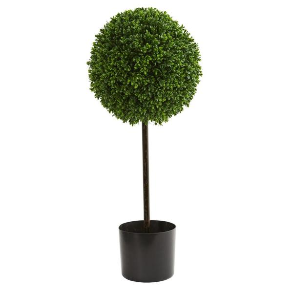 Nearly Natural 2 5 Ft Uv Resistant Indoor Outdoor Boxwood