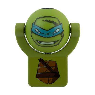 Nickelodeon Teenage Mutant Ninja Turtles Leonardo Light Sensing Projectable LED Night Light