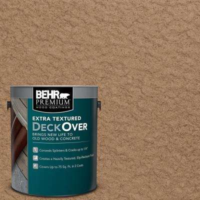 1 gal. #SC-158 Golden Beige Extra Textured Wood and Concrete Coating