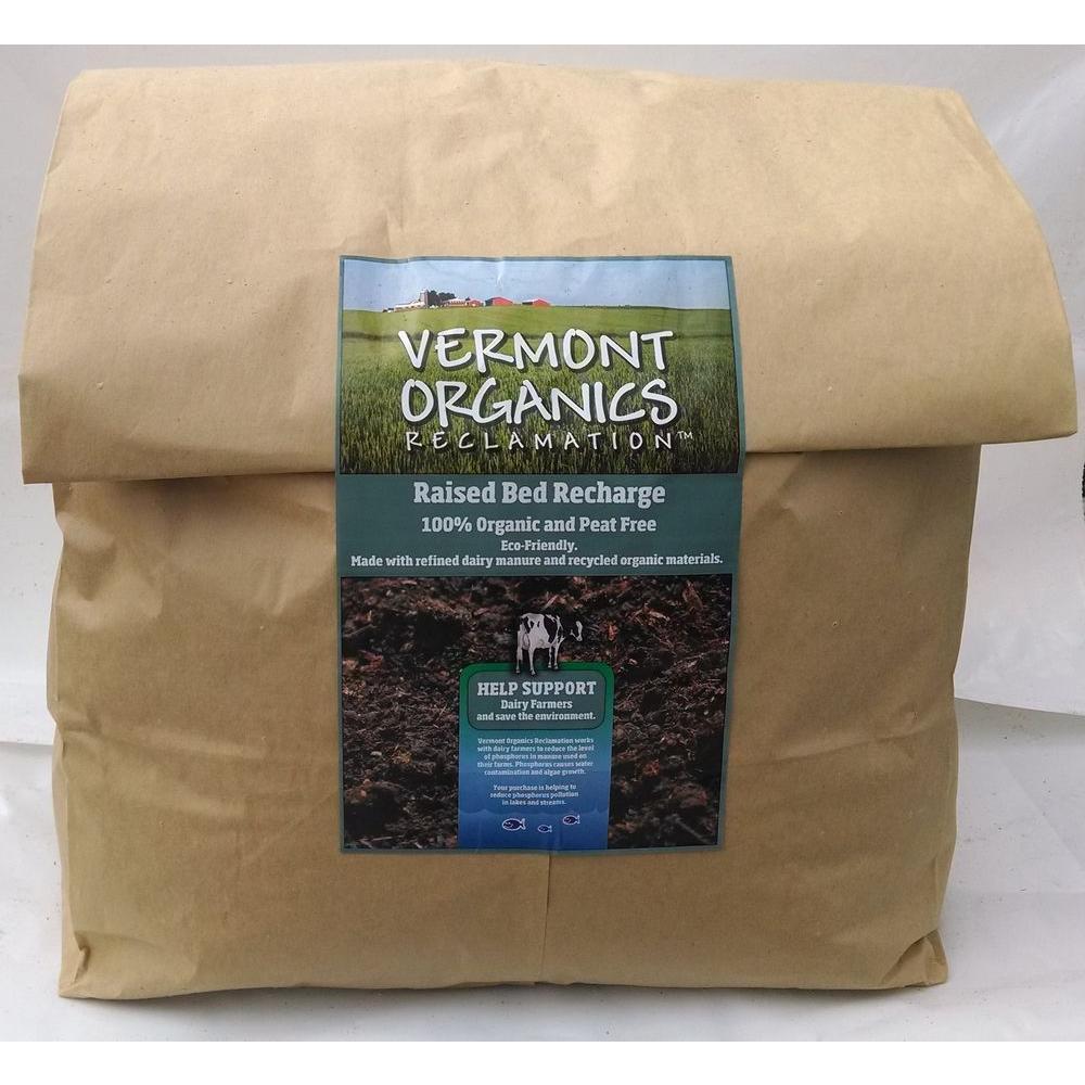 Vermont Organics Reclamation Soil 2.8 cu. ft. Raised Bed Recharge